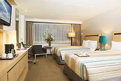 Habitación Deluxe Grand Double Room del Hotel Hotel Galería Plaza Reforma