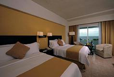 Habitación Superior Doble Vista al Mar del Hotel Gamma de Fiesta Inn Campeche Malecon