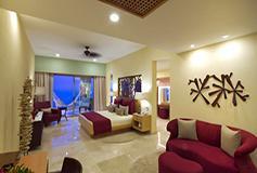 Habitación Junior Suite Vista al Mar con Desayuno Gratis del Hotel Garza Blanca Family Beach Resort and Spa