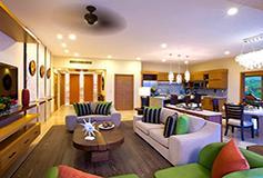 Habitación Suite Fam 2 Recámaras Vista al Mar 2 Niños Gratis del Hotel Garza Blanca Family Beach Resort and Spa