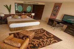 Habitación Ocean Front del Hotel Grand Oasis Tulum