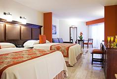 Habitación Junior Suite del Hotel Grand Palladium Vallarta