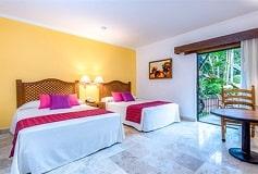 Habitación Estándar 1 Cama Doble e Individual/WiFi Gratis del Hotel Hacienda Buenaventura Hotel and Mexican Charm