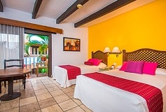 Habitación Estándar Dos Camas/ Wi-Fi Gratis del Hotel Hacienda Buenaventura Hotel and Mexican Charm