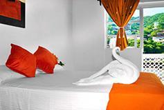 Habitación Estándar con Ventilador WiFi Gratis del Hotel Hacienda de Vallarta Centro