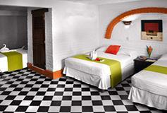 Habitación Estándar Séxtuple con Aire Acondicionado WiFi del Hotel Hacienda de Vallarta Centro
