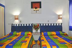 Habitación Estándar Cuádruple del Hotel Hacienda de Vallarta Las Glorias
