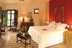 Habitación Alcoba con Balcón y Bañera del Hotel Hacienda La Magdalena