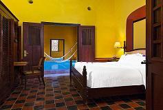 Habitación Junior Suite del Hotel Hacienda Puerta Campeche