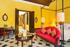 Habitación Suite Colonial del Hotel Hacienda Uayamón