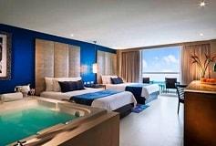 Habitación Deluxe Platinum - Double Beds del Hotel Hard Rock Hotel Cancún