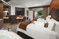 Habitación Hacienda Deluxe Family del Hotel Hard Rock Hotel Riviera Maya