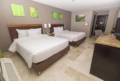 Habitación Estándar Doble Vista al Mar del Hotel Hilton Garden Inn Veracruz Boca del Río