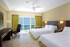 Habitación Deluxe Vista Parcial al Mar del Hotel Hotel Hilton Puerto Vallarta Resort All Inclusive