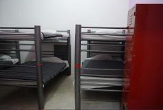 Habitación Dormitorio 4 Camas del Hotel Hostal Amigo