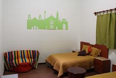 Habitación Doble con Baño Compartido del Hotel Hostal Amigo