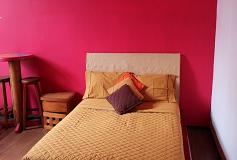 Habitación Sencilla con baño compartido del Hotel Hostal Amigo
