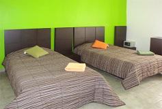 Habitación Estándar Doble del Hotel Hostel Amigo Suites