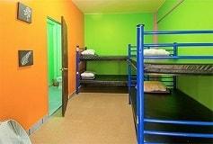 Habitación Dormitorio Mixto 4 No Reembolsable del Hotel Hostel Amigo Suites