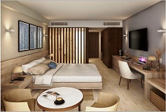 Habitación Altitud Dos Camas del Hotel Hotel Altitude by Krystal Grand Punta Cancun-All Inclusive