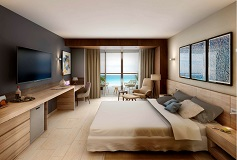 Habitación Altitude Una Cama King Vista al Mar del Hotel Hotel Altitude by Krystal Grand Punta Cancun-All Inclusive