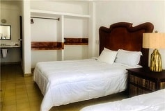 Habitación Deluxe 2 Double Queen Bed with Terrace del Hotel Hotel Amaca Sólo Adultos Zona Romántica