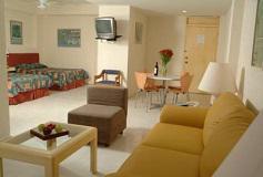 Habitación Suite del Hotel Hotel and Suites Nader