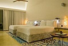 Habitación 2 Double Beach Area del Hotel Hotel Andaz Mayakoba a Concept by Hyatt