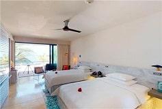 Habitación 2 Double Beach Front del Hotel Hotel Andaz Mayakoba a Concept by Hyatt