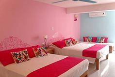 Habitación Habitación Superior 2 Camas Wifi Gratis del Hotel Hotel Boutique Catedral Vallarta