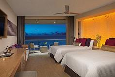Habitación Allure Junior Suite Doble Vista al Mar del Hotel Hotel Breathless Riviera Cancun Resort and Spa