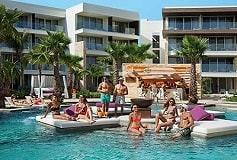 Habitación Xcelerate Junior Suite Swimout King Vista Tropical del Hotel Hotel Breathless Riviera Cancun Resort and Spa