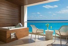 Habitación Xhale Club Junior Suite Doble Vista al Mar del Hotel Hotel Breathless Riviera Cancun Resort and Spa