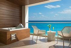Habitación Xhale Club Junior Suite King Vista al Mar del Hotel Hotel Breathless Riviera Cancun Resort and Spa