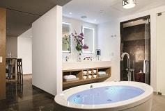 Habitación Xhale Club Master Suite King Frente al Mar del Hotel Hotel Breathless Riviera Cancun Resort and Spa