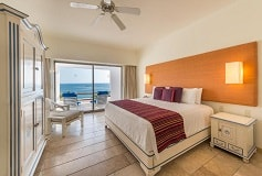 Habitación Suite de Una Recámara King con Piscina del Hotel Hotel Camino Real Zaashila Huatulco