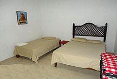 Habitación Estándar Cuadruple del Hotel Hotel Campamento Rio Salvaje