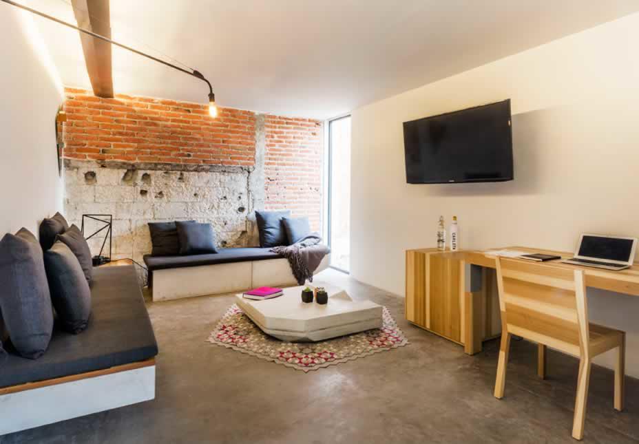 Habitación Suite con Terraza del Hotel Hotel Carlota