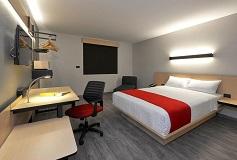 Habitación Sencilla del Hotel Hotel City Express Ciudad de Mexico Aeropuerto