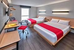 Habitación Doble del Hotel Hotel City Express La Raza