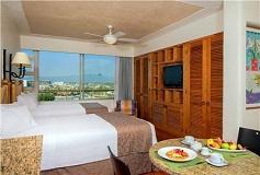 Habitación Estudio Condo Dos Camas del Hotel Hotel Club Regina Puerto Vallarta