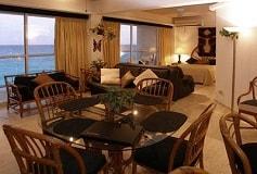 Habitación Suite Océano y Laguna del Hotel Hotel Condominios Salvia Cancún