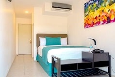 Habitación Estándar 1  Matrimonial + Desayuno Americano del Hotel Hotel Container Inn