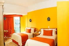 Habitación Superior Doble Vista Parcial al Mar con Cocineta del Hotel Hotel Copacabana Acapulco Beach