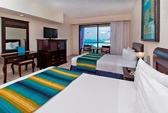 Habitación Estándar Tres Niños del Hotel Hotel Crown Paradise Club Cancún