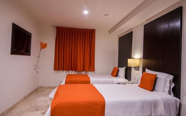 Habitación Estándar Dos Individuales del Hotel Hotel del Pescador