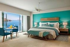 Habitación Deluxe Vista Parcial al Mar Cama King del Hotel Hotel Dreams Acapulco Resort & Spa