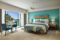 Habitación Deluxe Vista Tropical cama King del Hotel Hotel Dreams Acapulco Resort & Spa