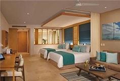 Habitación Preferred Jr Suite Swim Out Ocean View 2 Queens del Hotel Hotel Dreams Playa Mujeres Golf and Spa Resort