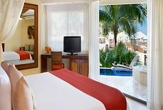 Habitación Preferred Club con Piscina Camas Dobles del Hotel Hotel Dreams Riviera Cancún Resort and Spa